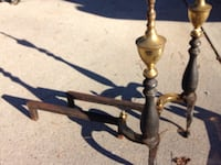 vintage andiron (fire dogs) Anderson, 29625