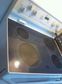 black and gray induction range oven 760 km