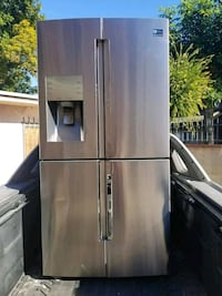 Samsung stainless steel refrigerator  South Gate