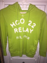 Moving Sale! Green Hollister hoodie XS