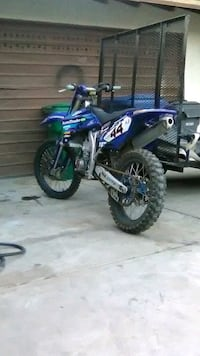 blue and black motocross dirt bike Palmdale, 93550