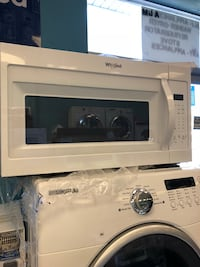 Brand New Whirlpool Over the Range Microwave (Scratch and Dent) 43 mi
