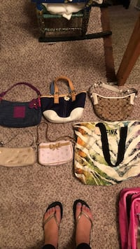 lot of small purses and a PINK victoria's secret tote Branchburg, 08876