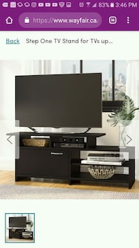 black wooden TV stand Toronto, M6M 2A1