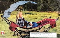 *Brand New* Hammock with Canopy & Stand