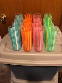 *FREE* plastic bar ware. Great for deck parties. New. 'Never used