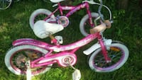 toddler's pink and white bicycle London, N6G 3L3