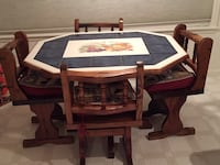 Tile top kitchen table with 4 chairs. Good condition. Price negotiable Parker, 80134