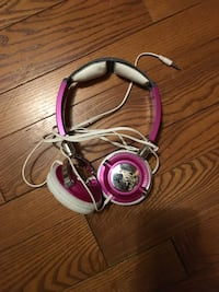 pink and white corded headphones London, N6A 5L8