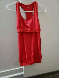 women's red sleeveless Tshirt  Toronto, M4M 2R9