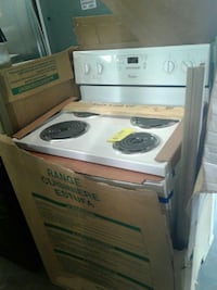 brand new whirlpool electric stove excellent condi Baltimore, 21223