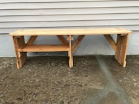 Sitting / Changing Mud Room Bench Pallet Wood