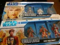 Star Wars Evolutions 3-Pack Figures Martinsburg, 25401
