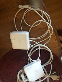 two original chargers mac pro with extension Laval, H7N 2T5