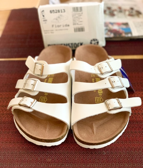 quality design d0e6c 10c6e BRAND NEW! BIRKENSTOCK Women's Florida 41 265 L10 M8 Footbed Sandals...