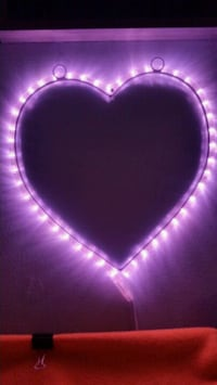 LED Heart Light  Nobleton, L0G 1N0