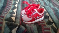 Childrens red Nike air max