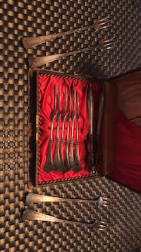 Antique Crab Forks from 1881 Rogars Henderson, 89012