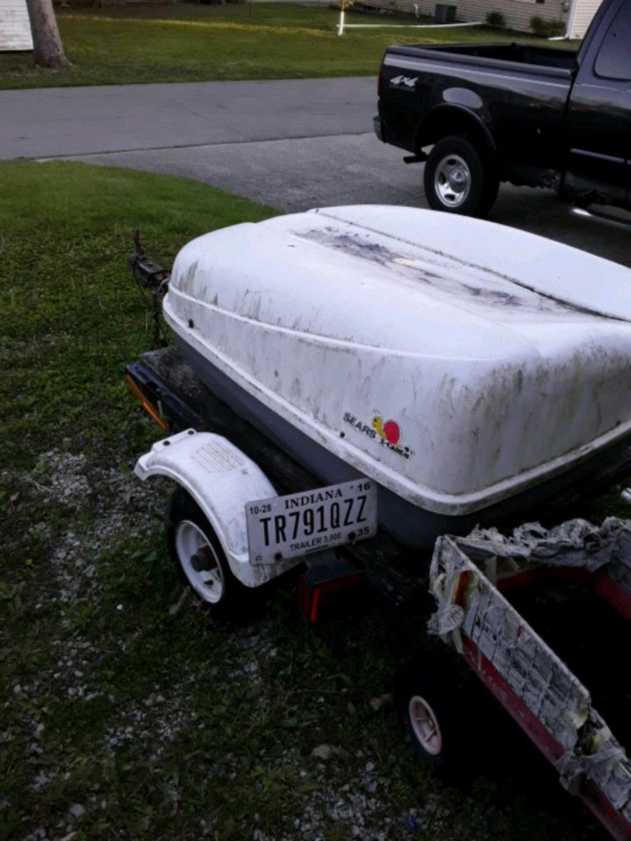 Photo A homemade motorcycle trailer for sale