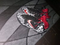 pair of black-and-red Nike basketball shoes York, 17401