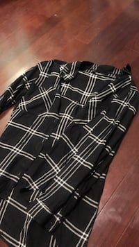 Black flannel size 14 unisex  Waterloo, N2L 2W3