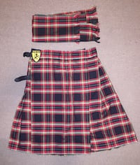 Kilt and sash. Good gift.  Dallas, 75231