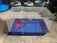 Small Pet Cage w/ Litter Pan