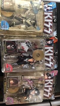 KISS Action Figures Ace Frehley, Gene Simmons, and Paul Stanley Buffalo, 14217