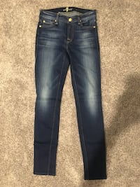 For all mankind womens jeans blue Sherwood Park, T8A 5K9