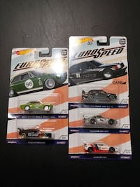 three Hot Wheels die-cast car toys Albuquerque, 87106