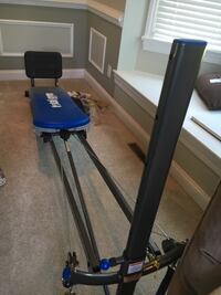 Total gym barely used from qvc. make offer. Great xmas gift Damascus, 20871