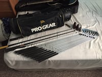 silver and black golf club set Winnipeg, R3C