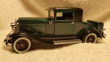1930 Hudson w. Rumble seat. 1:24 scale.