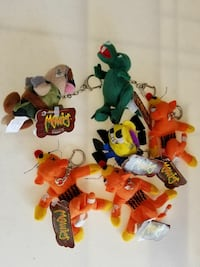 Meanies keychains