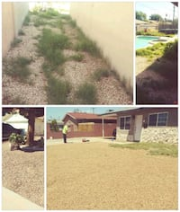 Grass and weeds removal