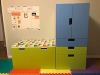 IKEA Kids Storage and Storage Bench Fairfax, 22030
