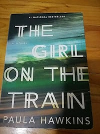 The Girl On The Train Book (Thriller) Montreal, H8R 2T1