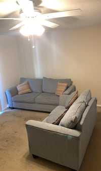 Light blue couch