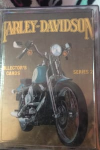 Harley Davidson collector's cards series 2 Enfield, 06082