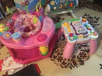 baby's pink and white activity center Milton, L9T 5T7