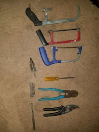 assorted hack saw and pliers Virginia Beach, 23453