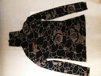 black and gold floral print top Mumbai, 400054