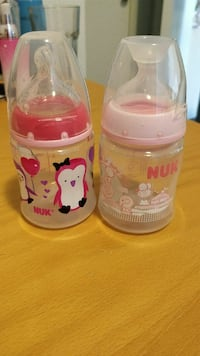 Two Nuk bottles Burnaby, V3N 0B4