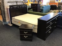 4pc Queen Bedroom Set  Virginia Beach, 23462