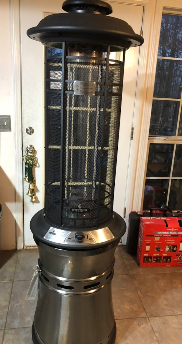 Used Inferno Outdoor Flame Heater Model Srph68 New Already Put