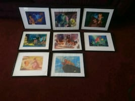Framed Disney Prints