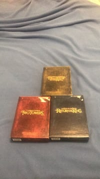 Lord of the rings extended edition complete collection  Woodfin, 28804