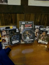 UFC collectable figures- $20 for all  Mississauga, L5B 1E4