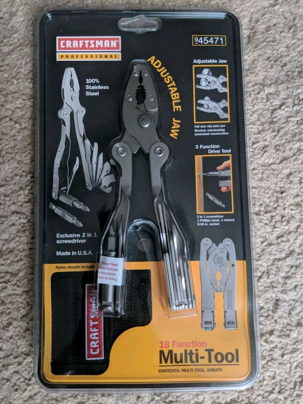 Craftsman Professional 18 Function Multi - Tool b7be3feb-2001-46c9-8b75-c2b0c8ce0e6d