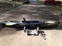 Ascend FS-10 Sit-In Angler Kayak - great condition Cordova, 38018